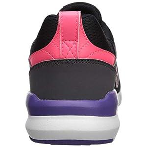 New Balance Women's 009 V1 Sneaker, Black/Guava/Prism Purple, 7 W US