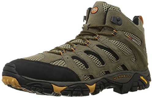 Merrell Men's Moab Ventilator Mid Hiking Boot,Walnut,10.5 M US