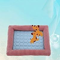 ペットベッド 犬ベット ペット用べッド スクエア型 通気性よい 耐噛み 型犬 小型犬 中型犬 滑り止め 通年利用 ふわふわ 暖かい 柔らか ペット用べッド ふんわり ぐっすり眠れる 保温 防湿 ふんわり 犬用ベッド