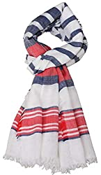 Zaina Unisex Cotton Viscose Milticolor Scarf for Men & Women - Fit for All Ages