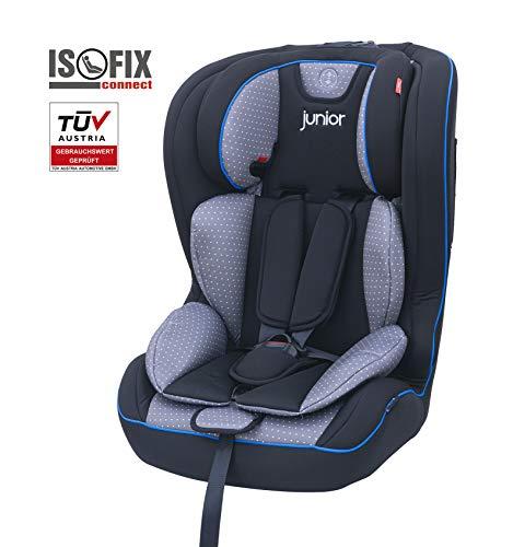 Petex 44440418Seggiolino per bambini Premium Plus 803HDPE secondo la norma ECE R44/04, Multicolore