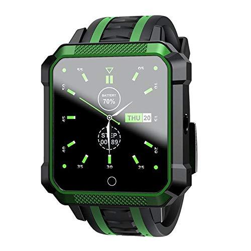 LOKMAT H7 Watch Phone Waterproof Smart Watch Fitness Sports Bracelet Green