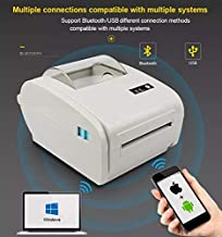 $150 » Freeum Bluetooth Label Printer, 4x6 Thermal Printer, Commercial Direct Thermal High Speed USB Port Label Maker Machine, Etsy, Ebay, Amazon Barcode Express Label Printing