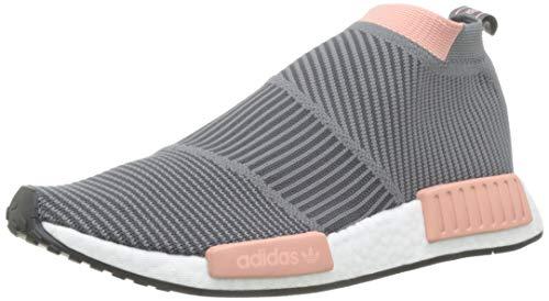 adidas Damen NMD_cs1 Pk W Gymnastikschuhe, Grau (Grey Four F17/Grey Five/Trace Pink F17 Grey Four F17/Grey Five/Trace Pink F17), 37 1/3 EU