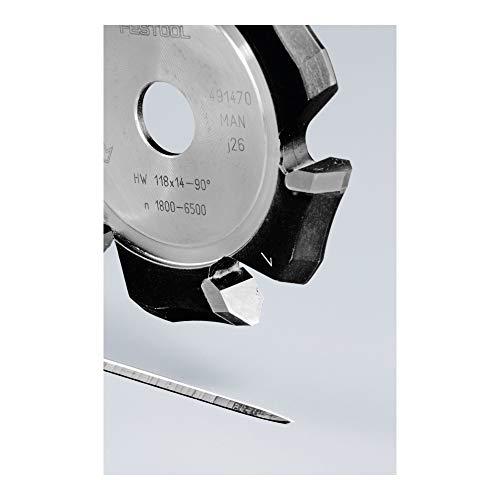 FESTOOL 491470 V-Nutfräser HW 118x14-90°/Alu