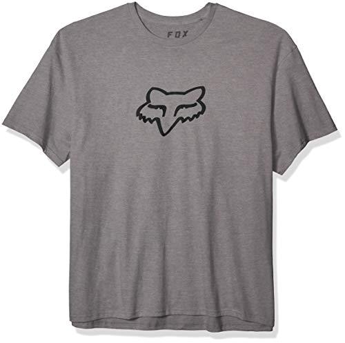 Fox Racing Camiseta de manga corta estándar Legacy 3/4XL para hombre, grafito jaspeado, 4XL