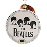 Christopher Radko Beat-le Mania Beatles Themed Glass Drum Ornament