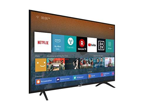 Hisense H55BE7000 138 cm (55 Zoll) Fernseher (4K Ultra HD, HDR, Triple Tuner, Smart-TV, Standard) [Modelljahr 2019]