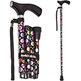 Switch Sticks Adjustable Folding Walking Cane and Walking Stick...