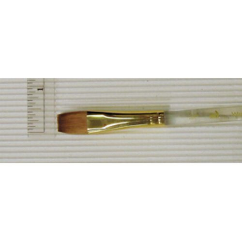 Princeton Series 4050 Synthetic Sable Watercolor Brushes 1/2 in. short handle wash -  4050W-050