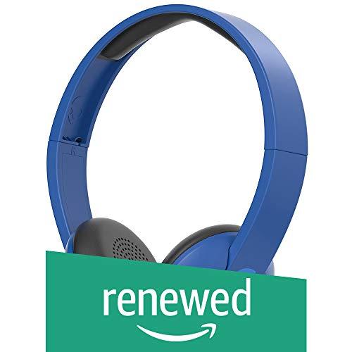Skullcandy S5URJW-546 Uproar Wireless On-Ear Bluetooth Headphones, Royal Blue