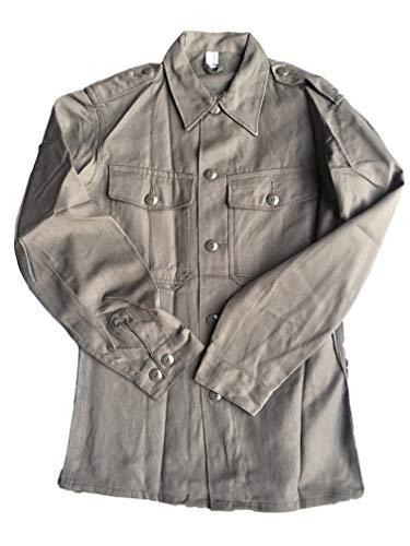 Camicia da uomo vintage dell'Esercito Austriaco, verde militare, Green, M