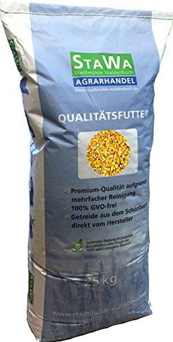 StaWa Futtermais, Mais gelb, Hühnerfutter, Geflügel, Karpfen !!Mühlenqualität!! 25 kg GVO - frei