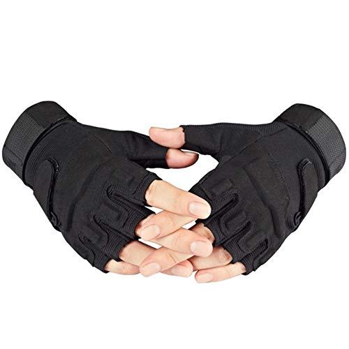 Leger tactische vingerloze handschoenen mannen anti-slip half vinger militaire schietende wanten mannelijk SWAT Fighting…