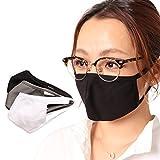 バレッタ マスク 抗菌 布 制菌加工 撥水 洗える 制菌 おしゃれ 手作り フェイスマスク facemask ブラック L~LLサイズ