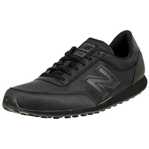 New Balance U410V1, Zapatillas Hombre, Black (Black/Black BBK), 45 EU