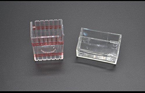 SUMAG 1PC Transparent Treasure Magic Box Magic Tricks Close Up Illusion Gimmick Props Accessories Comedy Magic Box