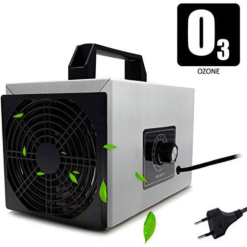 O3 Premium/Generador de ozono Industrial 20.000mg / HR 220v, Limpiador de ozono, Dispositivo de ozono para Habitaciones, Humo, Coches y Mascotas.Tecnologia Honey-Comb-Tec© … (20.000mg)