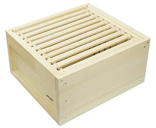 APIFORMES Zander Liebig ZN Zarge+10 Rähmchen 520x420x230 mm Weymouthskiefer Holzbeute Imkerei Bienen Bienenhaus Imkereibedarf