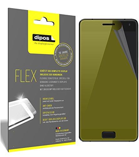 dipos I 3X Schutzfolie 100prozent kompatibel mit ZUK Z2 Pro Folie (Vollständige Bildschirmabdeckung) Bildschirmschutzfolie