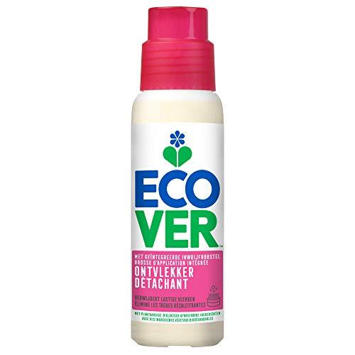 Ecover Fleckenentferner für Textilien, natürliche Herkunft, mit praktischer Bürste, 200 ml
