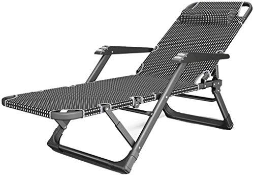 OESFL Sillón reclinable Plegable al Aire Libre Sillas Multifuncionales sillas de Oficina Sillas de salón con Estilo de Playa Patio Sillas de Ruedas sillas Plegables for Las excursiones