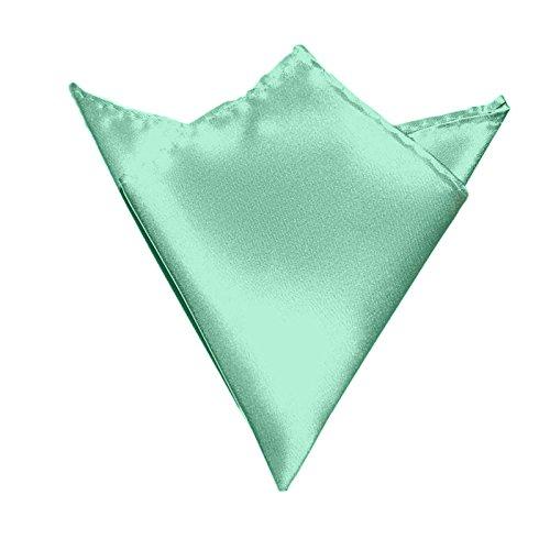 Heren pochet mintgroen   satijn zijde look   zakdoek steekdoek voor pak Sakko Smoking