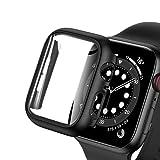 Wiki VALLEY Lot de 2 coques de protection pour Apple Watch Series SE/6/5/4 - 44 mm - Souple - TPU -...