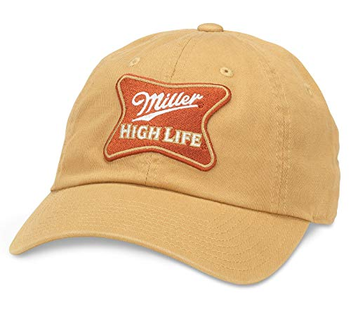 AMERICAN NEEDLE Miller High Life Beer Ballpark Adjustable Baseball Dad Hat