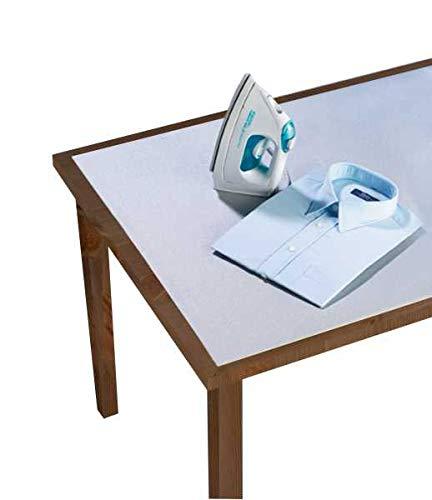 WENKO Tischbügeldecke Alu Decke Unterlage Bezug Bügeltisch Bügeldecke