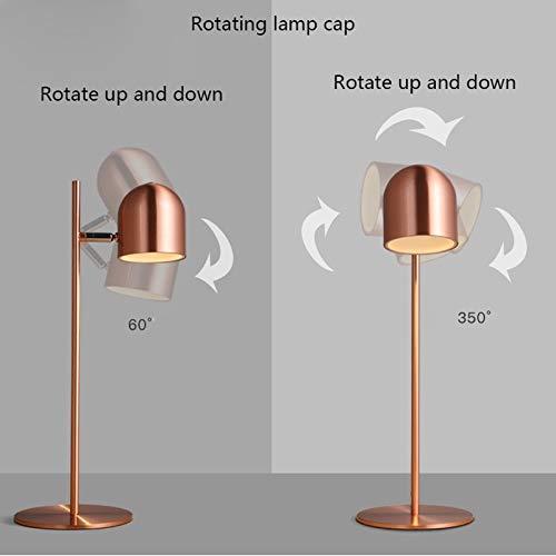 Lfixhssf bureaulamp, energiebesparend, tafellamp, schakelaar, tafellamp, LED-lampen verkrijgbaar in verschillende kleuren, Lfixhssf