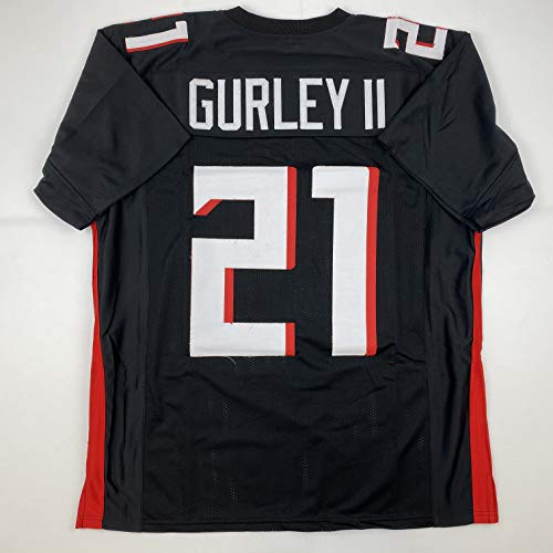 Unsigned Todd Gurley II Atlanta Black 2020 Custom Stitched Football Jersey Size XL New No Brands/Logos