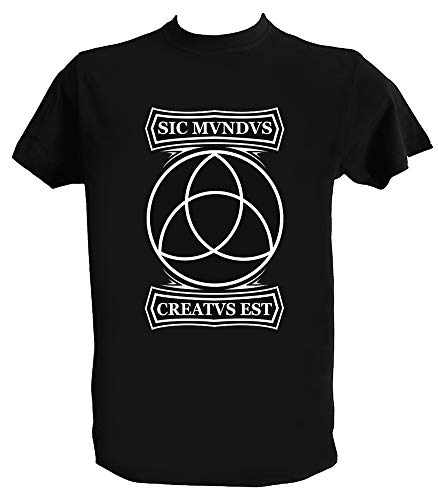 Generico T Shirt Dark Serie TV SIC Mundus Creatus EST Maglietta Serie TV Dark Uomo Bambino, Uomo - XL