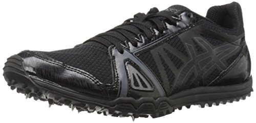 ASICS Men's Hyper XC Cross-Country Running Shoe, Black/Onyx/Carbon, 11 M US