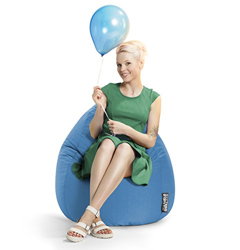 SITTING POINT only by MAGMA Sitzsack Easy XL ca. 220 Liter blau