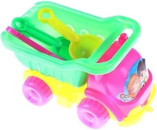 Zpong Baby Kids Dumper Tip Truck Sand Beach Water Play Garden Sandpit Seaside Classic Toys Bath Toys 14X8X6Cm Jialele