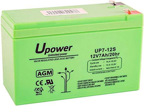 Batería de plomo 12V 7Ah, 151x65x94mm
