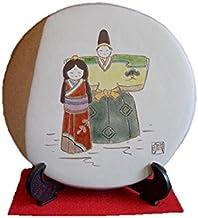 長島萬古焼ひな人形(陶板)