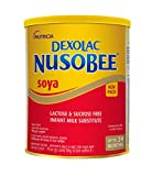 Dexolac Nusobee Soya Lactose and Sucrose-free Infant Milk Formula, For Babies Up To 24 months, 400g