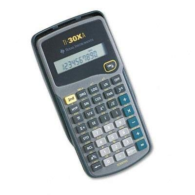 ti 30xa calculator - 8
