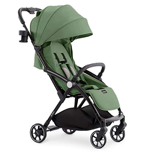 Leclerc Baby - Silla de Paseo de bebé Magic Fold Plus Verde - Carros de bebé plegables, ligeros y elegantes