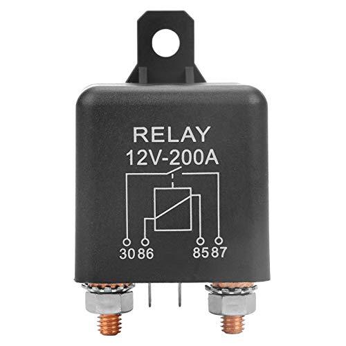 Relé de arranque de coche normalmente abierto Relé de arranque de coche de servicio pesado estable para batería de control eléctrico industrial