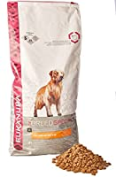 High percentage of proteins to help build and maintain strong muscles and body condition (* vs Eukanuba Adult Large Breed) Tailored level of L-Carnitine to help naturally burn fat Higher level of prebiotics to help promote digestive health No artific...