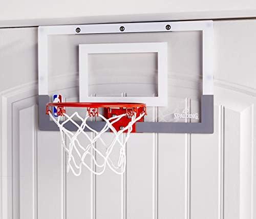 Spalding Slam Jam Mini Over-the-Door Basketball Hoop