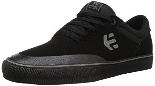 Etnies Marana Vulc, Zapatillas de Skateboarding para Hombre, Negro y Gris Oscuro, 38.5 EU