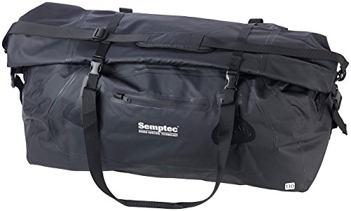 Semptec Urban Survival Technology wasserdichte Tasche: wasserdichte XXL-Profi-Outdoor- und Reisetasche aus LKW-Plane, 110 l (Sporttaschen)