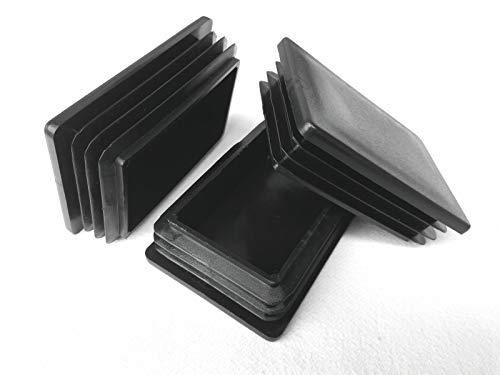 5 Stück Rechteckstopfen/Rohrstopfen 40x80mm
