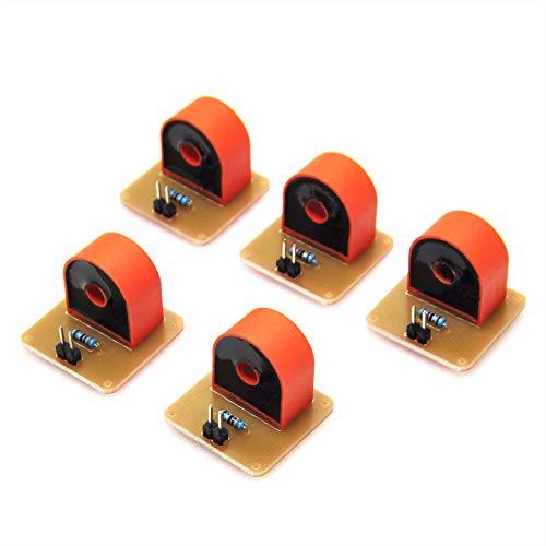 Gikfun DIY-Stromwandler-Modul EK1344x5U für Arduino Electronics Starter-Set, 5A-Spektrum, Wechselstrom (5 Sets)