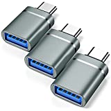 USB C to USB Adapter 3-Pack USB C Male to USB...
