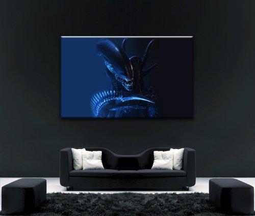 Von Canvas35Alien V Predator Film 6101,6x 61cm Gerahmter Kunstdruck, Leinwand, mehrfarbige,